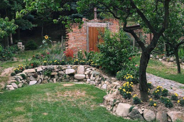 zahrada strom leto k Babičce